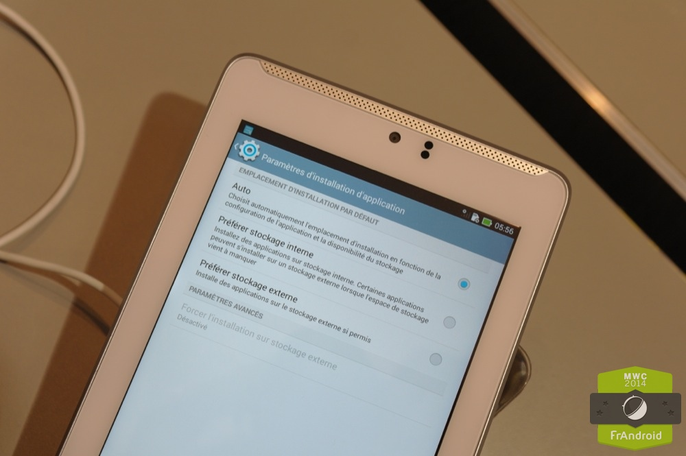 Android Prise En Main FrAndroid ASUS Fonepad ME372C LTE 4G Image 07