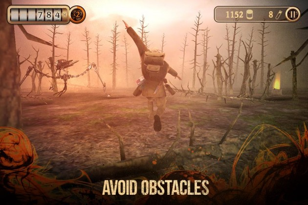 Android The Great Martian War Runner Game image 0