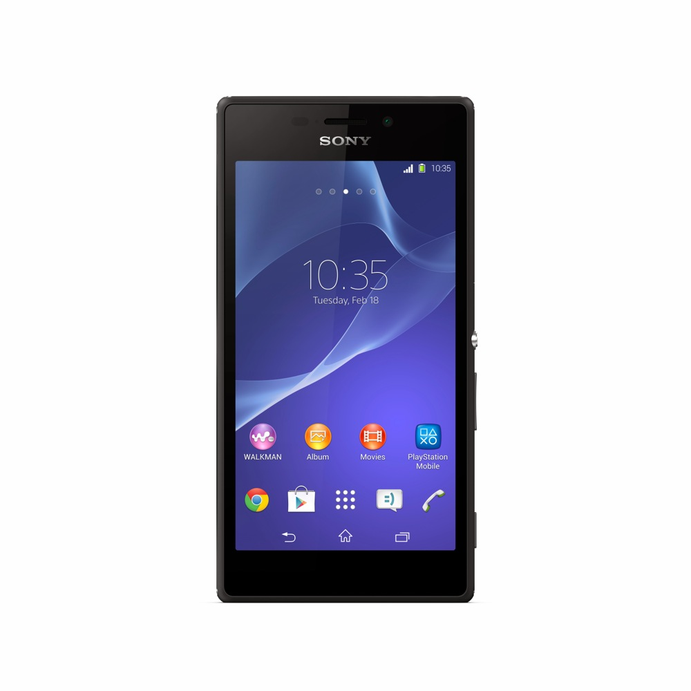 FrAndroid 6_Xperia_M2_Black_Front