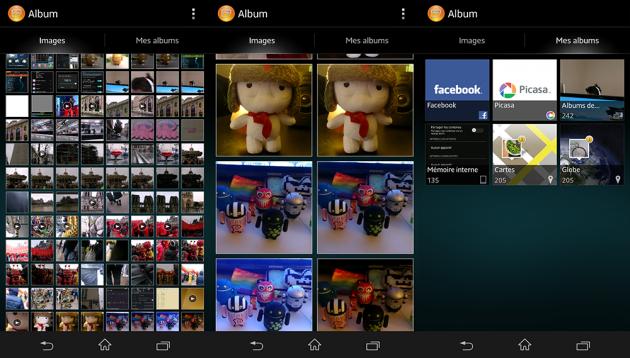 Test-Sony-Xperia-Z-Albums