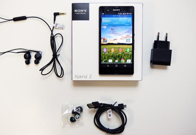 Test-Sony-Xperia-Z-Boite