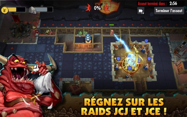 android dungeon keeper micro-paiement paiment in-app free2play pay2win