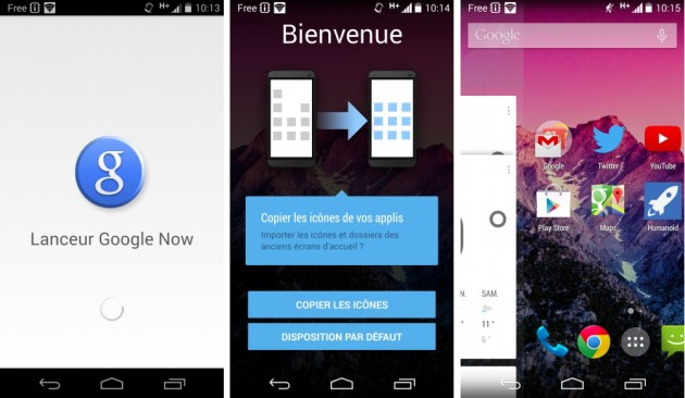 android google now launcher 3.2 google experience launcher recherche google search images 01
