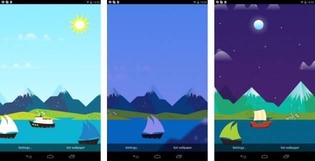 android mountains nows google now livewallaper images 0