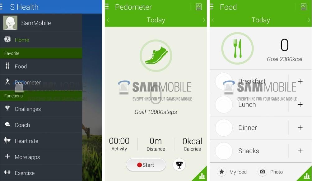 s health une nouvelle ui pour l 39 app sportive de samsung. Black Bedroom Furniture Sets. Home Design Ideas