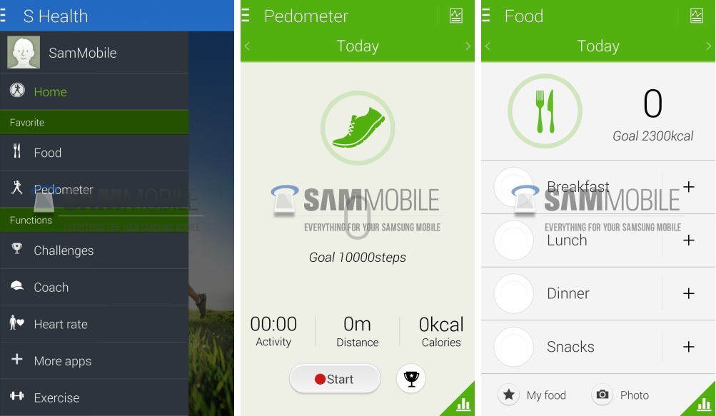 S health на андроид