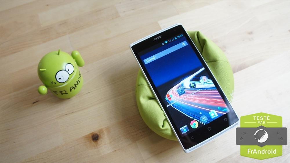 android test prise en main frandroid acer liquid z5 image 04