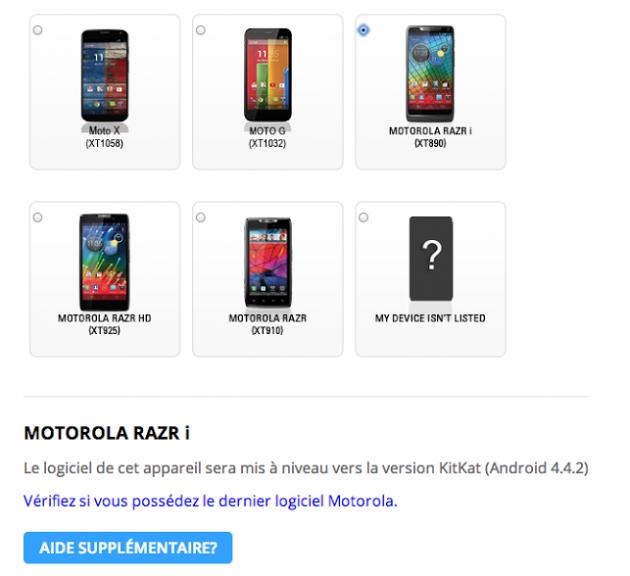 Android 4.4.2 KitKat Motorola RAZR i image 01