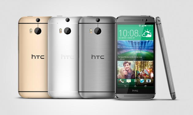 HTC One M8_Gunmetal_Silver_Gold