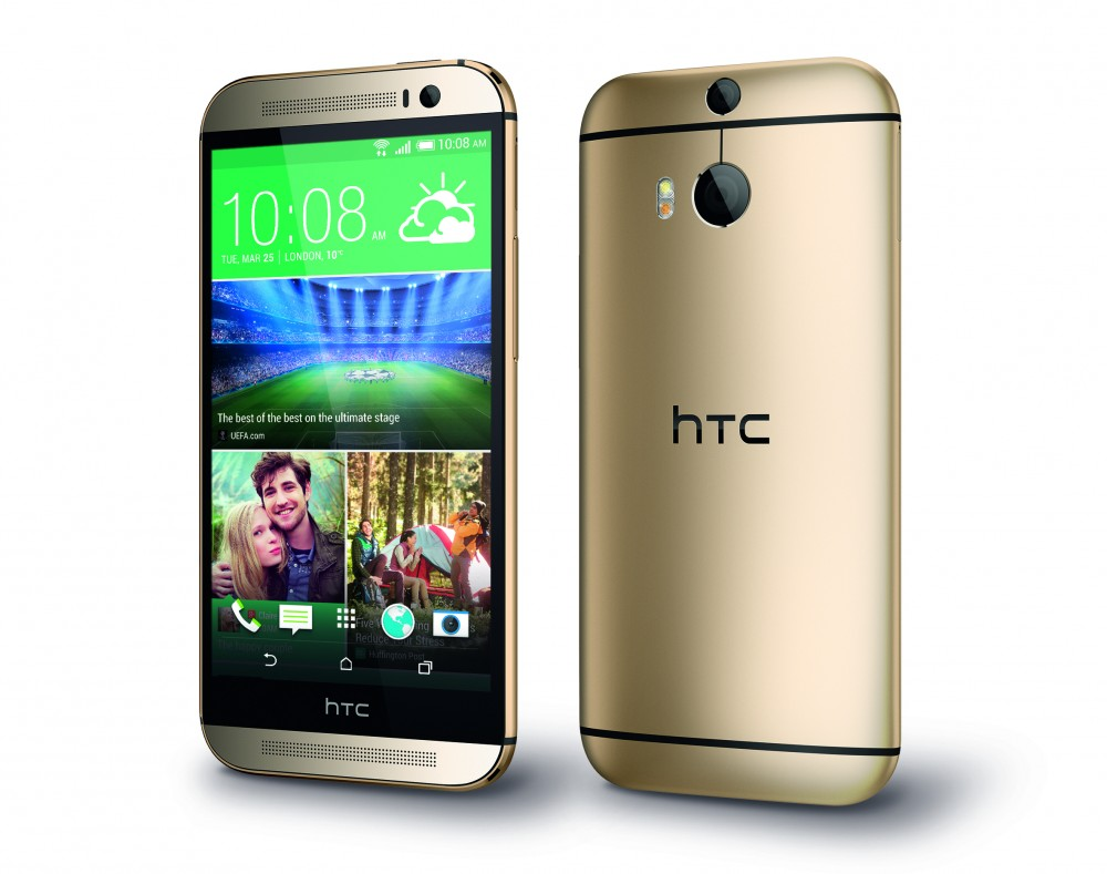 HTC One M8_PerLeft_Gold