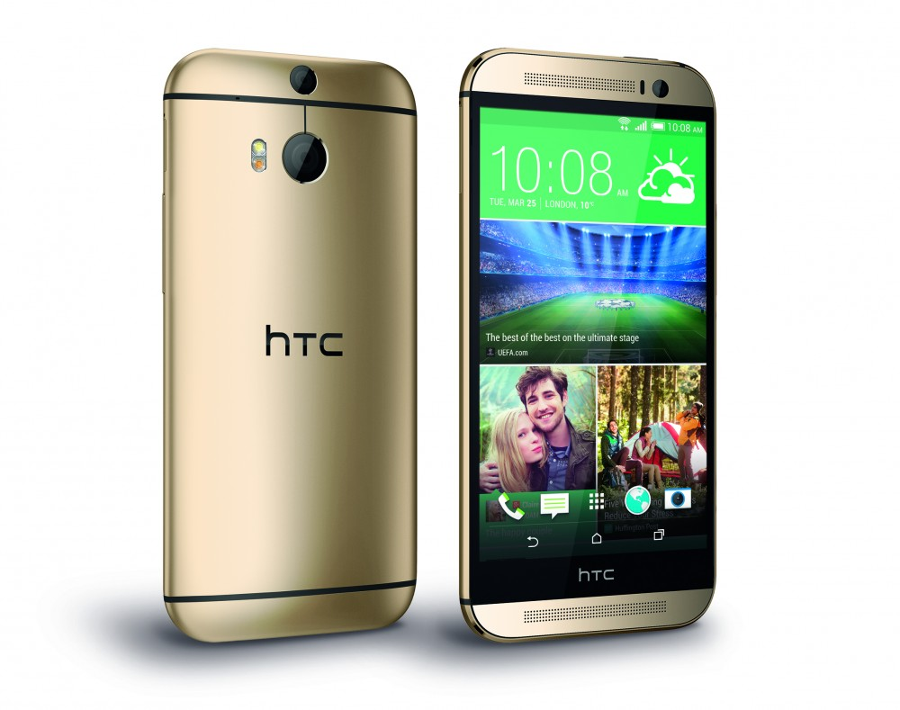 HTC One M8_PerRight_Gold