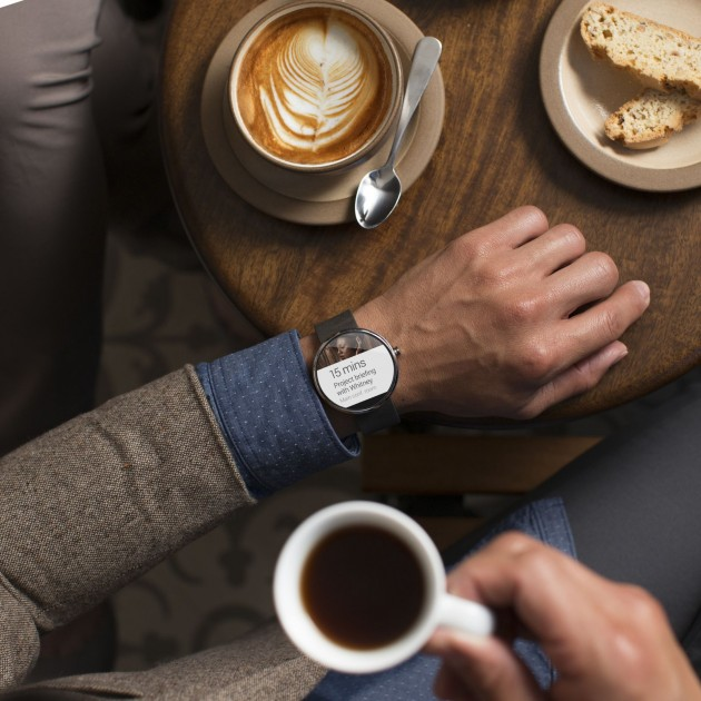 moto 360 fait aussi le café