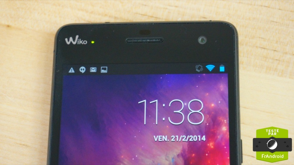 Wiko Highway sur Android FrAndroid DSC01655