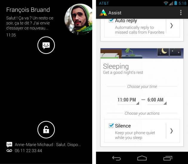 android écran actif motorola active display motorola assist images 01