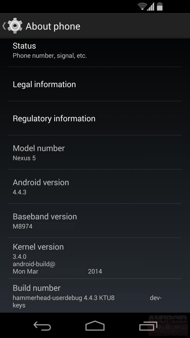 android 4.4.3 kitkat google lg nexus 5 image 01