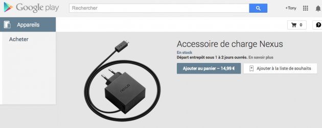 android chargeur rapide nexus image 01