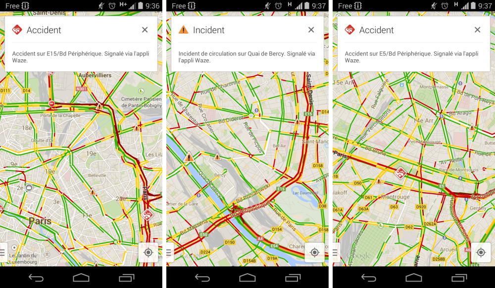 android google maps now recherche google search waze image 02