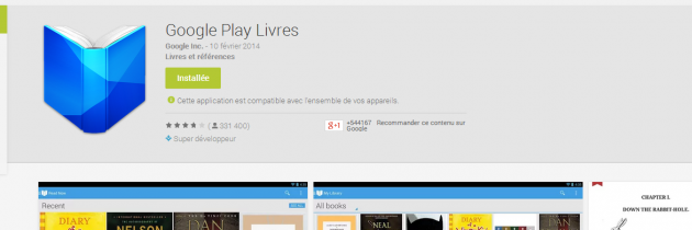 android google play livres books march 2013 image 01