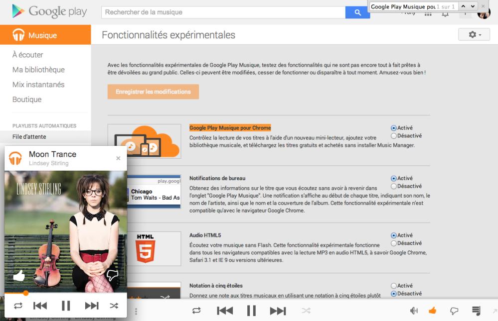 android google play musique pour chrome popup image 01