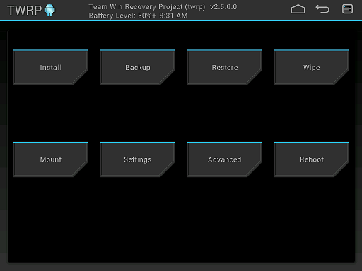 android recovery custom twrp 2.7 image 01