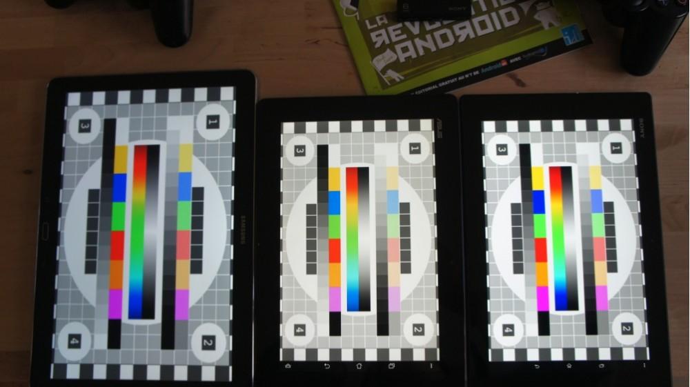 android test frandroid samsung galaxy note pro 12.2 qualité écran dégradé gris image 002