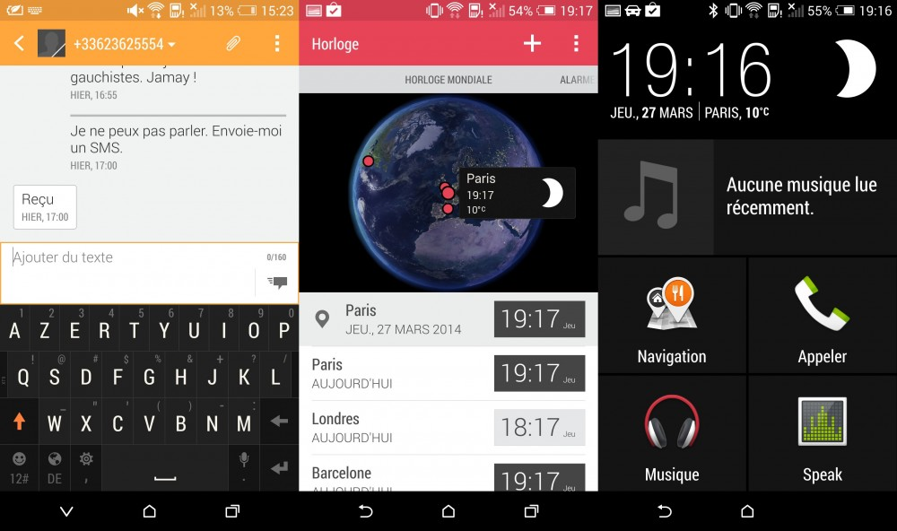 applis htc one 2014