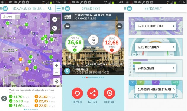 sensorly application 2014