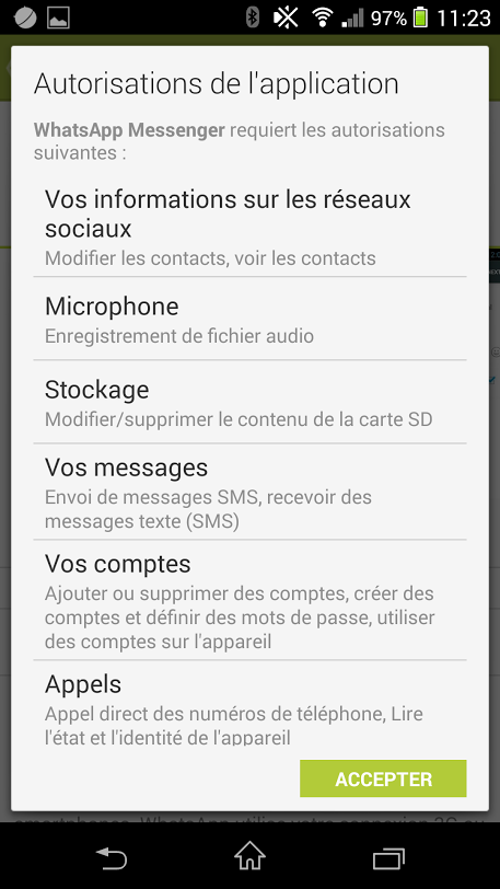 Whatsapp-permission-android