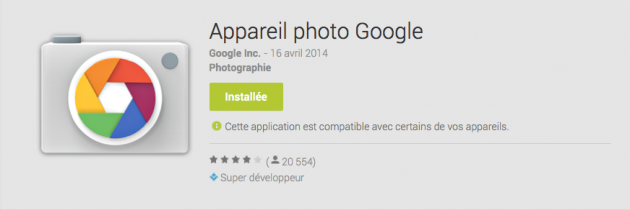 Application-appareil-photo-google
