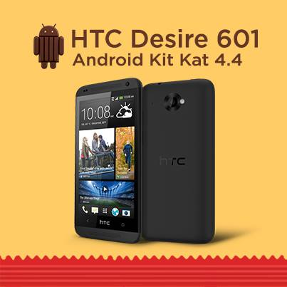 HTC Desire 601 Android 4.4