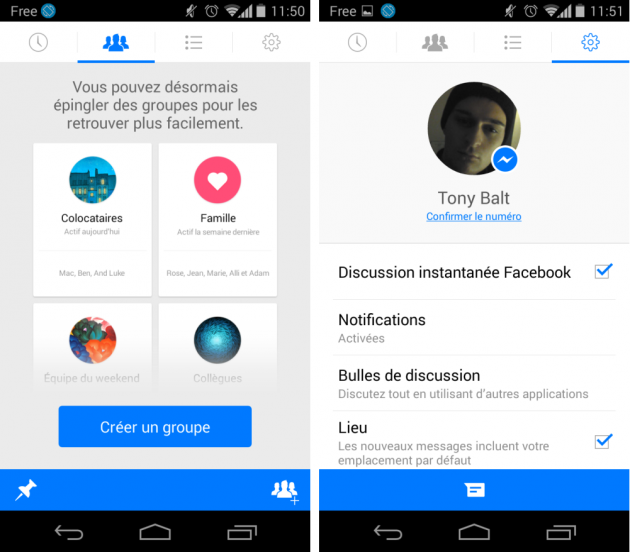 android facebook messenger 4.0 avril 2014 images 01