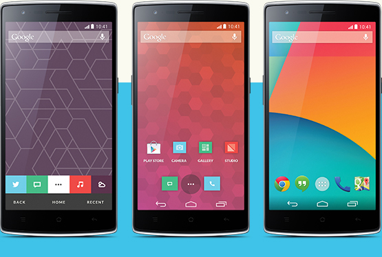 android oneplus one interface ui thèmes image 01