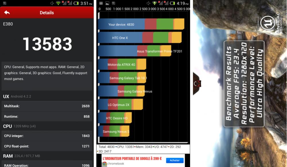 android test frandroid acer liquid e3 benchmark antutu quadrant epic citadel images 01