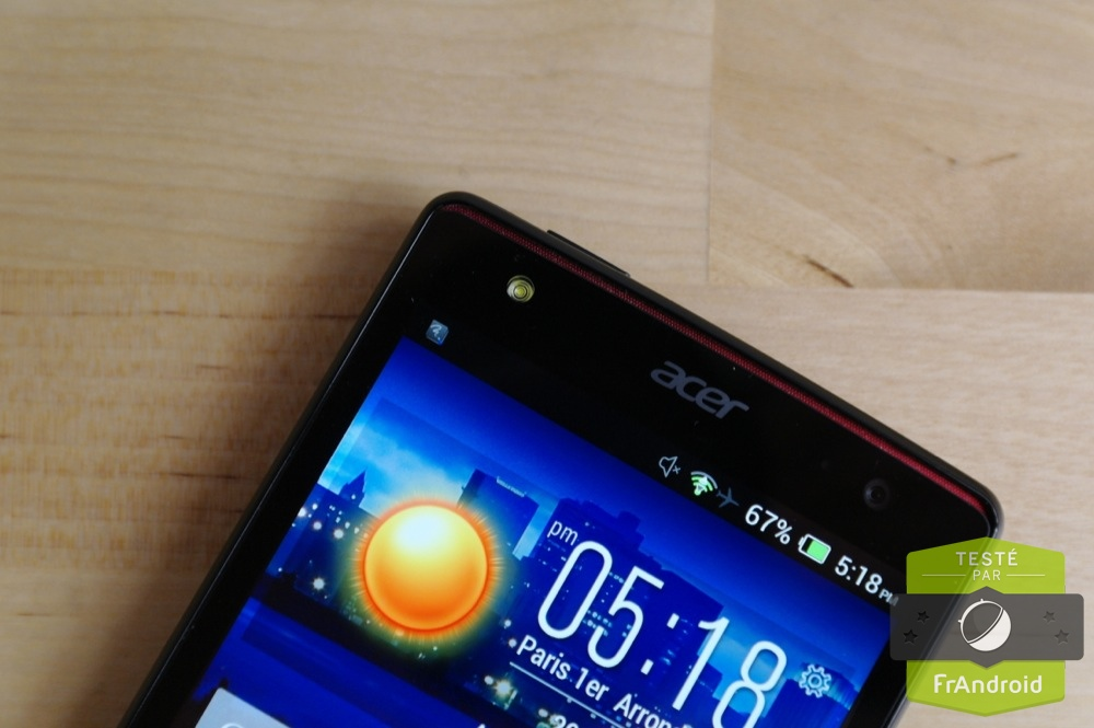 android test frandroid acer liquid e3 duo prise en main image 04