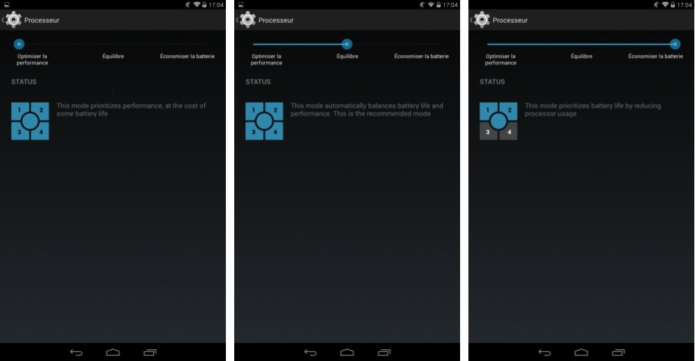 android test nvidia tegra note 7 interface logicielle image 01