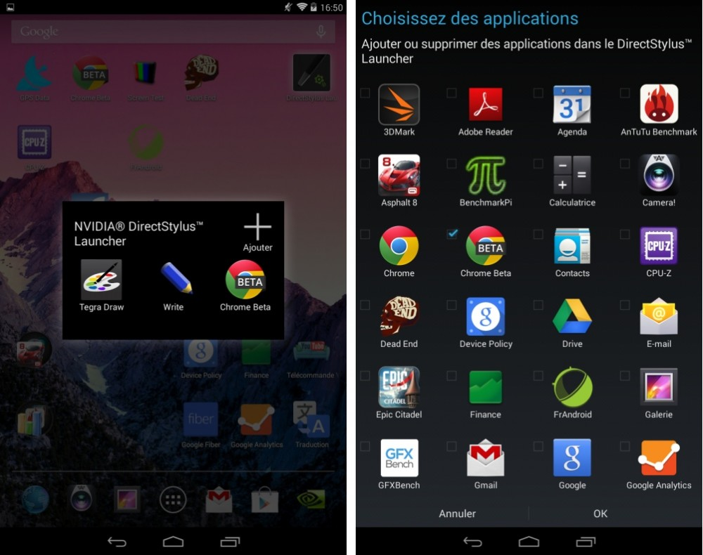 android test nvidia tegra note 7 interface logicielle image 05