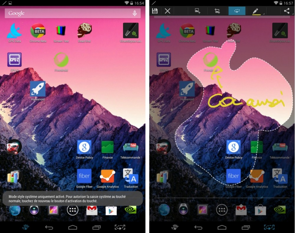 android test nvidia tegra note 7 interface logicielle image 06