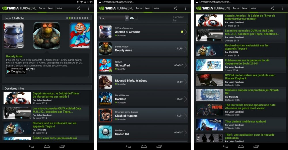 android test nvidia tegra note 7 interface logicielle image 08