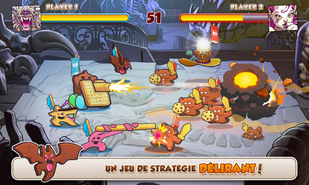 call of cookie un jeu de strat gie au tour par tour dans la cuisine frandroid. Black Bedroom Furniture Sets. Home Design Ideas
