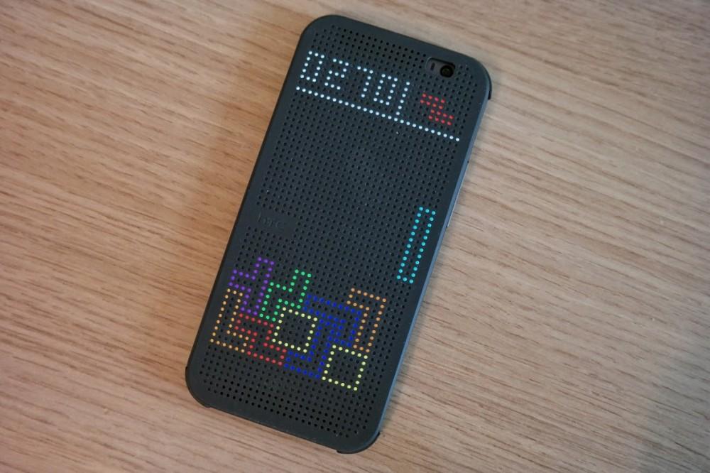 HTC Dot View Tetris