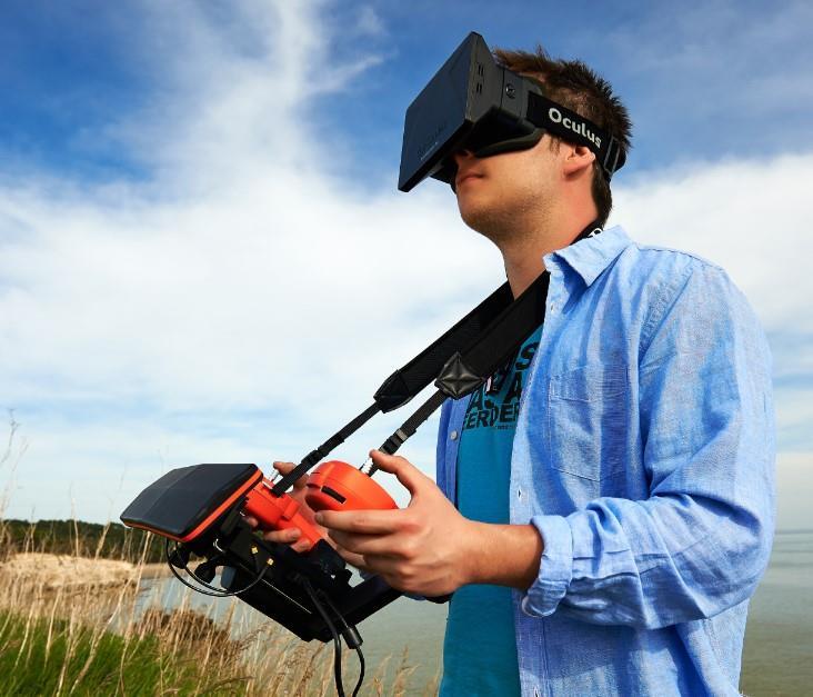 Bebop Drone Oculus