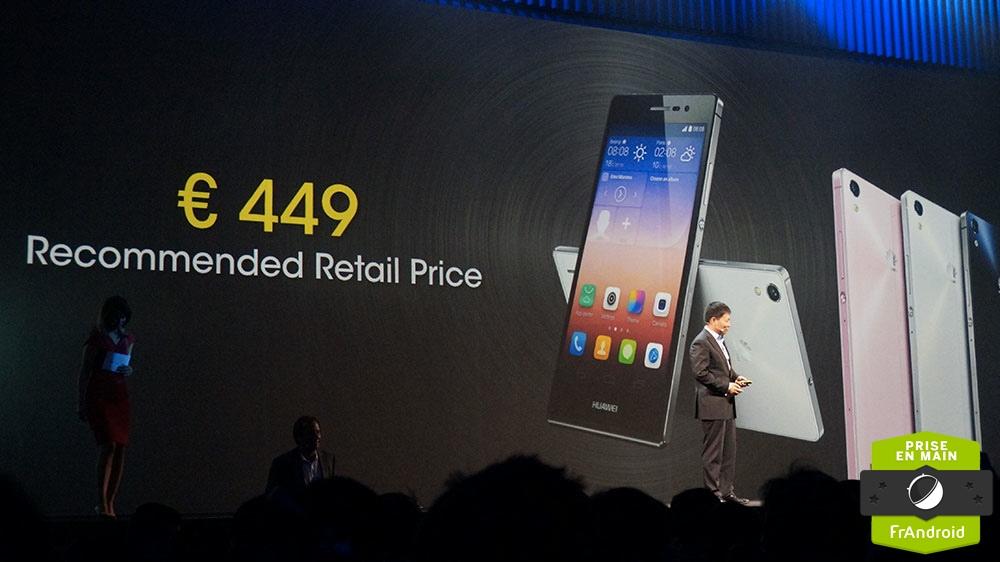 Prix Huawei Ascend P7