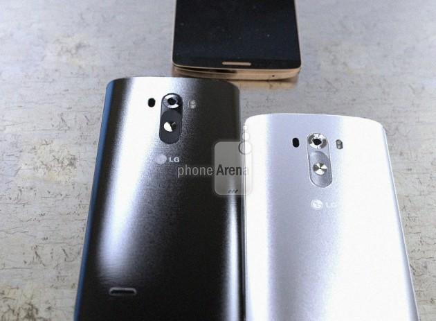 LG G3 noir blanc doré
