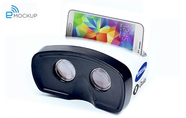 Samsung réalité virtuelle mockup
