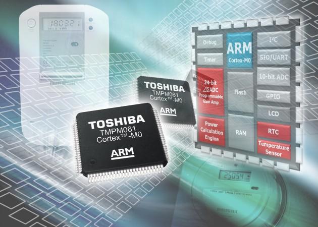 Toshiba microcontroller