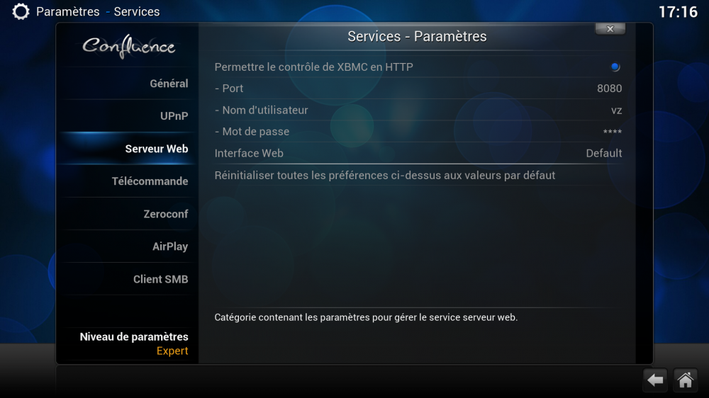 XBMC Services