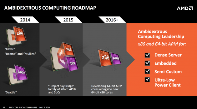 amd roadmap arm
