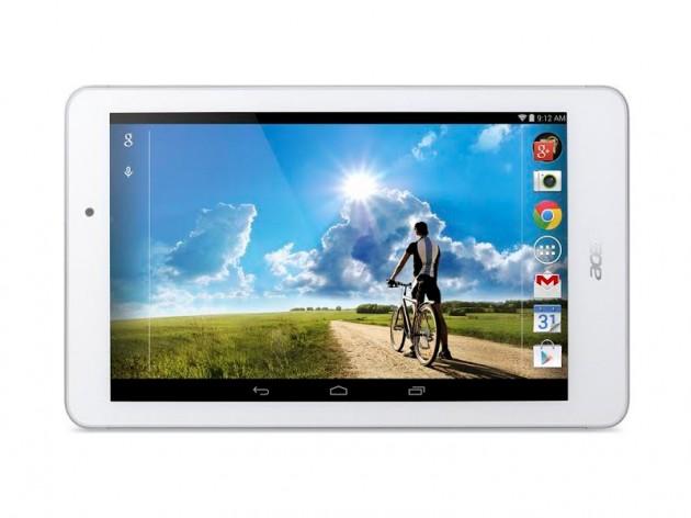 android acer iconia tab 8 199 euros europe mi-juillet 2014 image 02