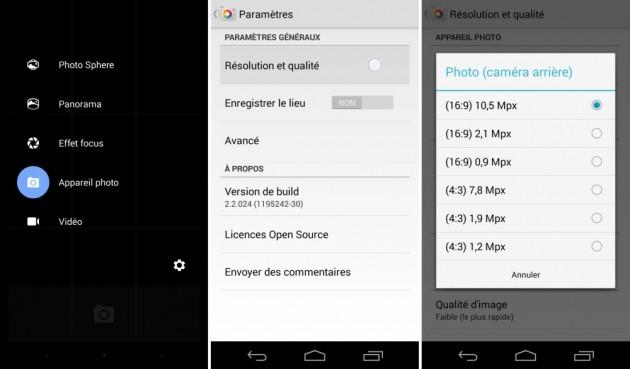 android appareil photo google camera 2.2 ratio image 01