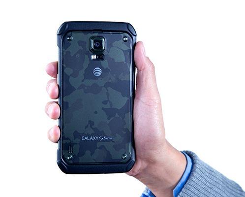 android samsung galaxy s5 active camo green image 02
